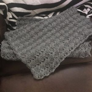 Handmade Crochet Lap Throw